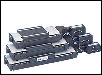 Motorized Precision Linear Stage High-Precision Translational Stages with Crossed Roller Bearings